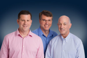 Carl Snyder, Curt Corum and Stephen Otto